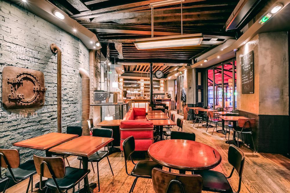 La Chaufferie café à Paris